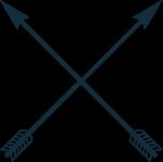 弓箭箭头装饰装饰元素拉弓射箭