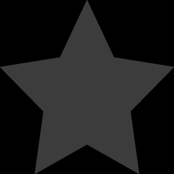 五角星五星几何五角形闪烁