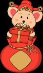 鼠年福袋礼物送礼礼盒
