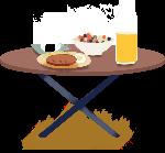 桌子早餐食物食品美食