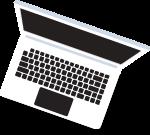 电脑笔记本电脑装饰装饰元素卡通