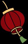 灯笼红灯笼卡通新年过年