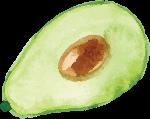 牛油果绿色