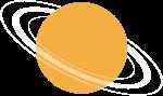星球行星天体宇宙卡通