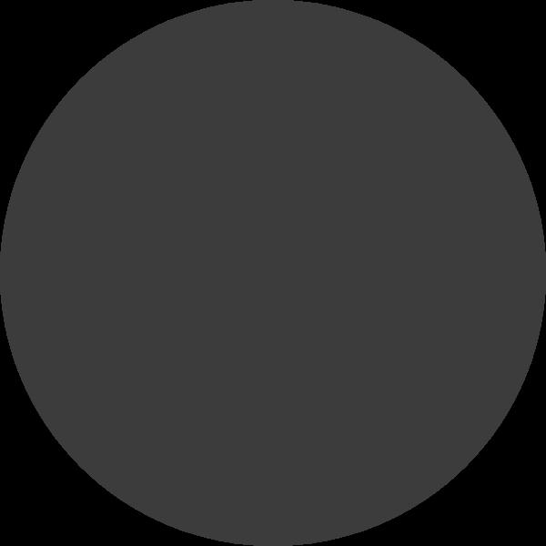 几何圆圆形标识黑色