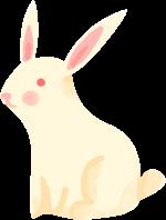 兔子小兔子装饰元素装饰卡通