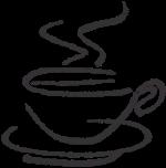 杯子咖啡杯咖啡杯线稿线稿手绘