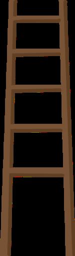 梯子木梯树木木头工具