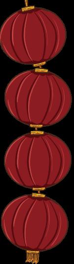 灯笼红灯笼过年春节过节