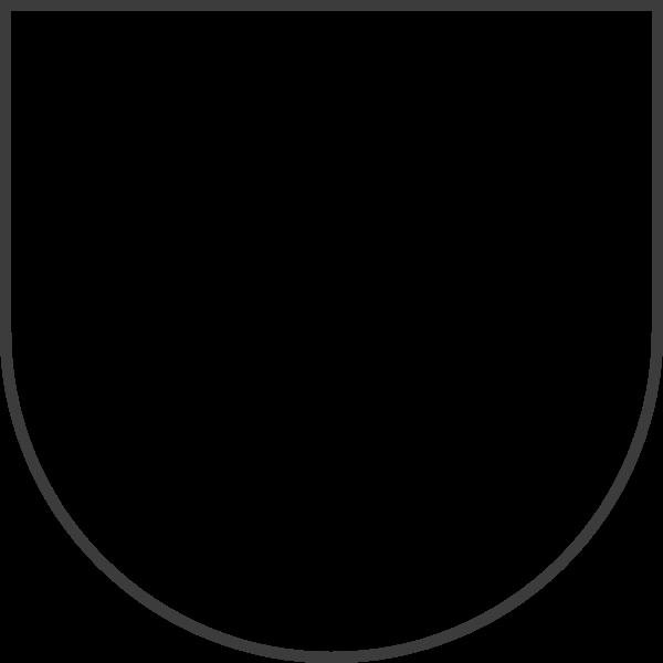 组合图形圆弧框边框几何