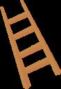 梯子爬梯木梯木头装饰