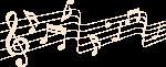 乐符五线谱音谱音符符号