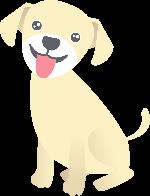 狗可爱动物宠物黄色
