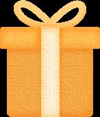 礼物盒礼物礼盒黄色礼品