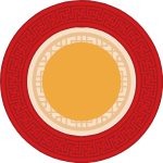 圆圆形中国元素装饰装饰元素