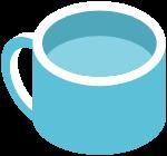 杯子茶杯水杯装饰装饰元素