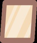 镜子照片画框装饰装饰元素