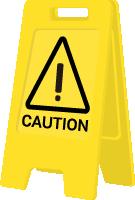 清洁用具卫生清洁警示警示牌