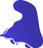 色块异形装饰装饰元素蓝色