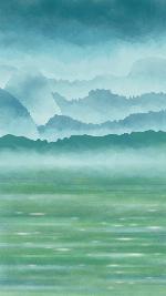 山水背景纹理底纹风景