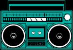 收音机音乐广告装饰装饰元素