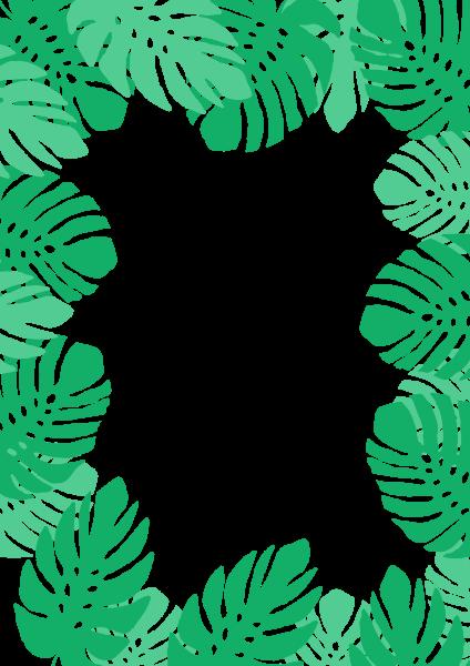 叶子相框滤镜绿叶叶