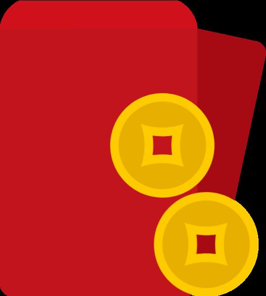 红包压岁钱铜钱钱币钱
