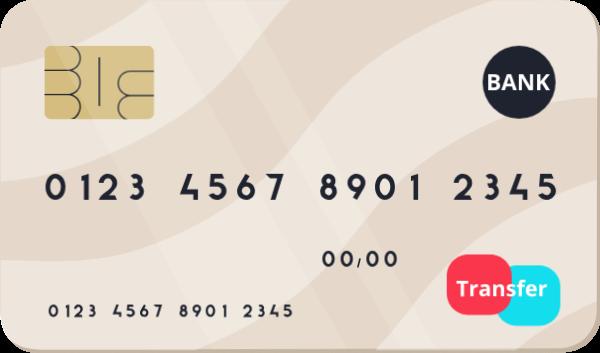 银行卡储蓄卡信用卡钱金币