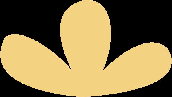 植物仙人掌标志花卉黄色