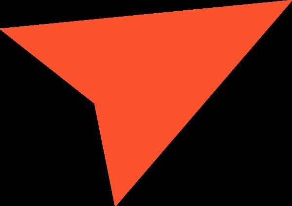 标志剪影飞机红色几何