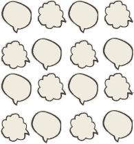 对话框气泡框纹理背景底纹