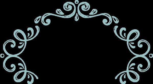 花框花纹花边页脚装饰