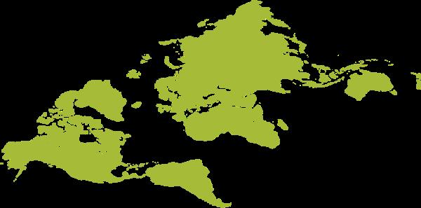 地图世界绿色旅行旅游