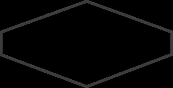 不规则矩形框边框线框菱形横幅