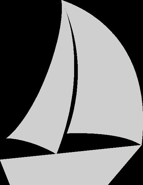 帆船船交通工具图标标识