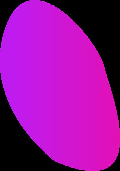 异性不规则图形渐变色块几何