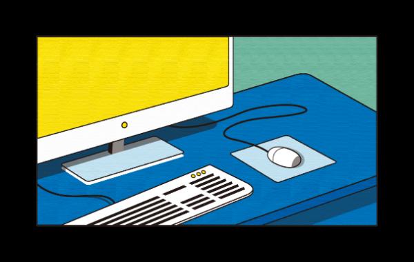 电脑桌面台式电脑台式机办公