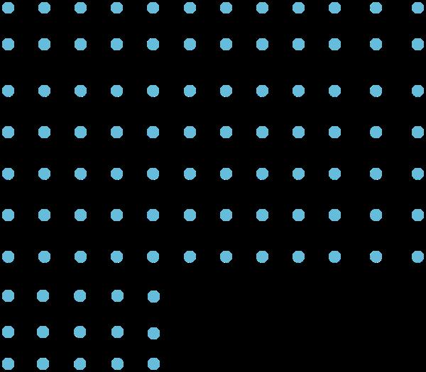 小圆点装饰元素蓝色装饰背景