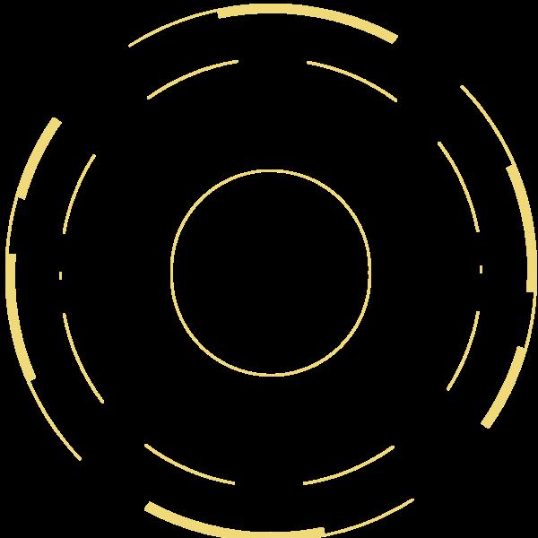 圆环圆圆形圆圈装饰