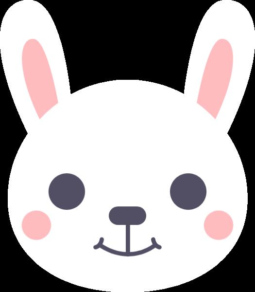 頭像兔子兔子頭小白兔小動物
