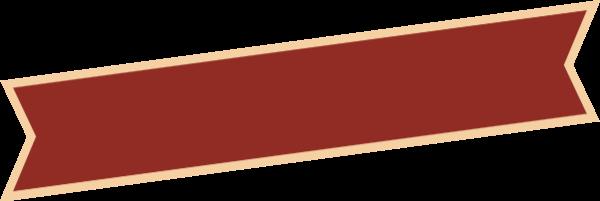 飘带丝带横幅标题标题框