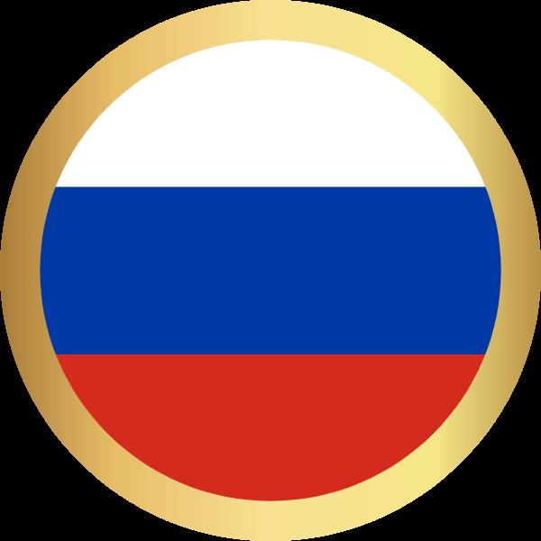 国旗圆俄罗斯国家足球