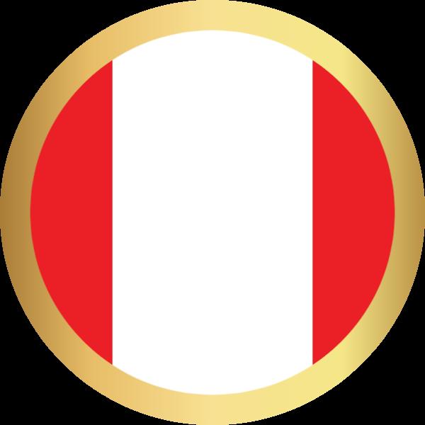 国旗圆秘鲁国家足球