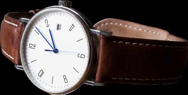 手表皮质表时间准时