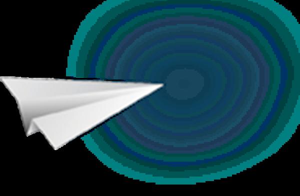 纸飞机飞机装饰装饰元素童年