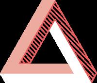 三角三角形几何图形立体3d