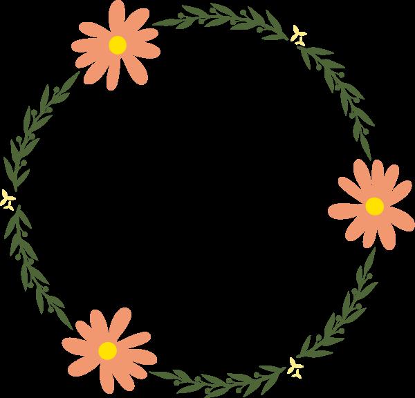 花边花朵框边框花