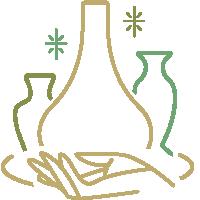 陶艺logo标志标识手绘