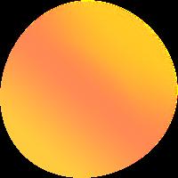抽象漸變模糊圓形球形