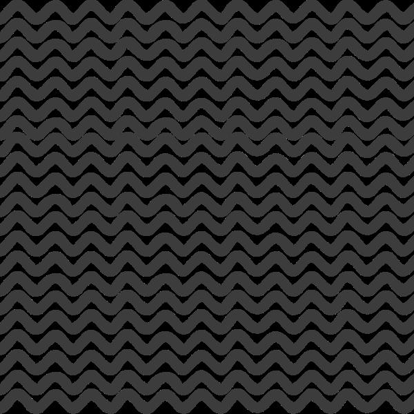 四边形几何波浪装饰黑白